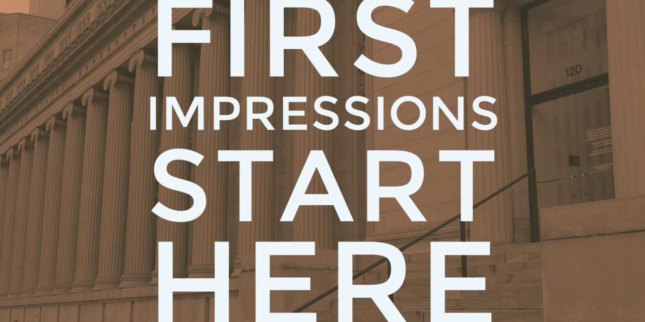 First impression: Your interview starts when you arrive