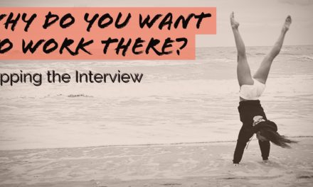 Flipping the interview: Do you want to work there?