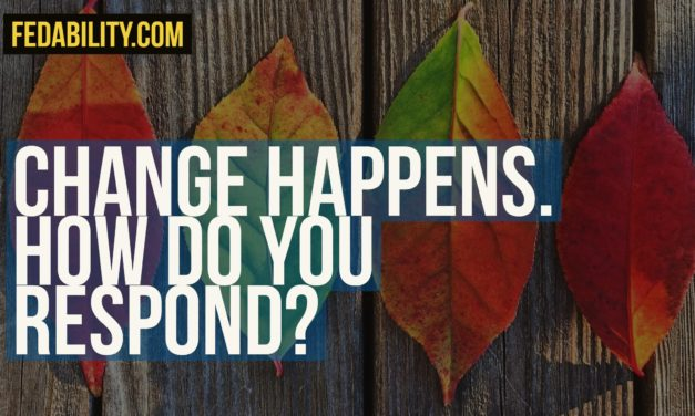 Change happens: How do you respond?