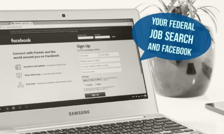 Your Federal job search and Facebook