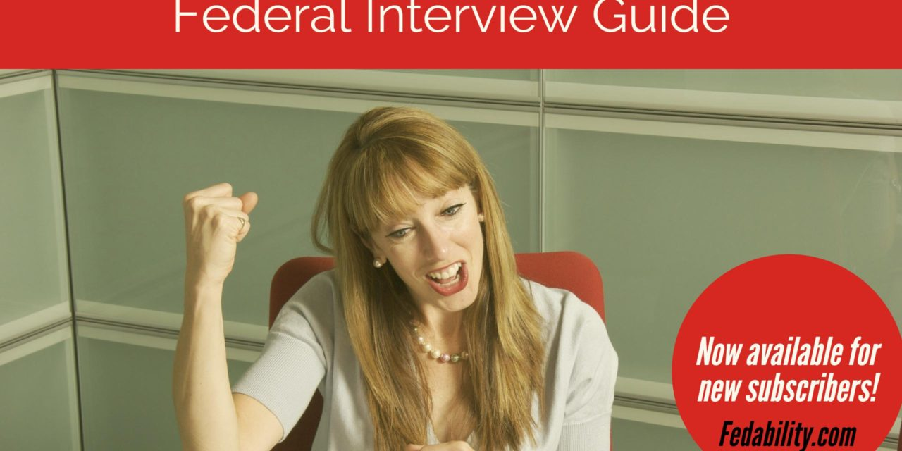 Fedability Federal Interview Guide