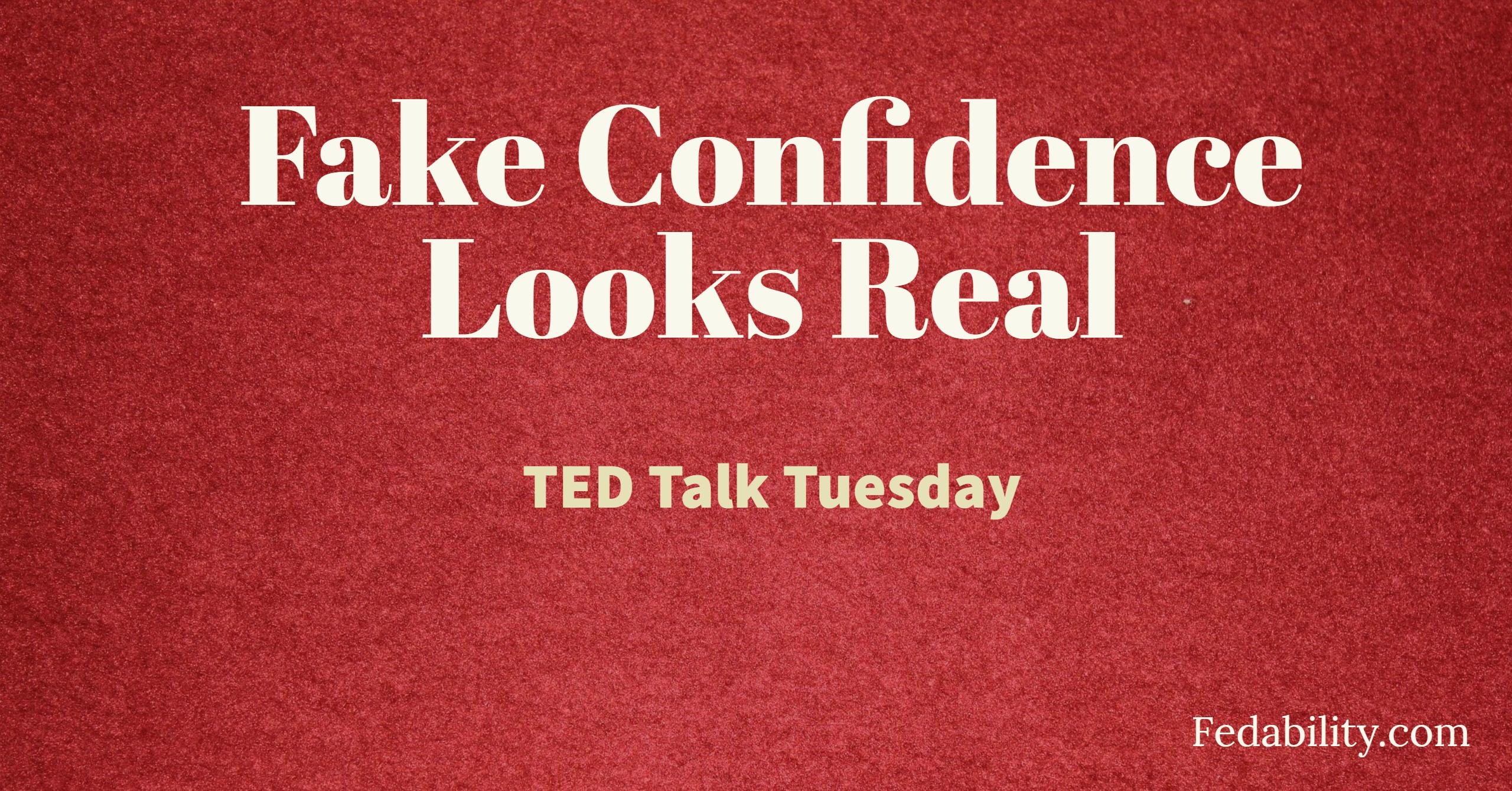 how to fake confidence