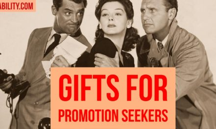 Gifts for promotion seeking Federal employees