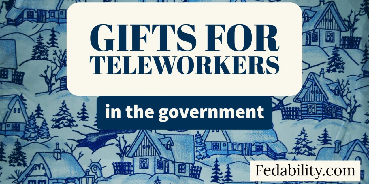 Gifts for a teleworker in the government