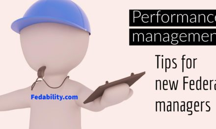 Federal performance management for beginners : 4 tips you can't do without