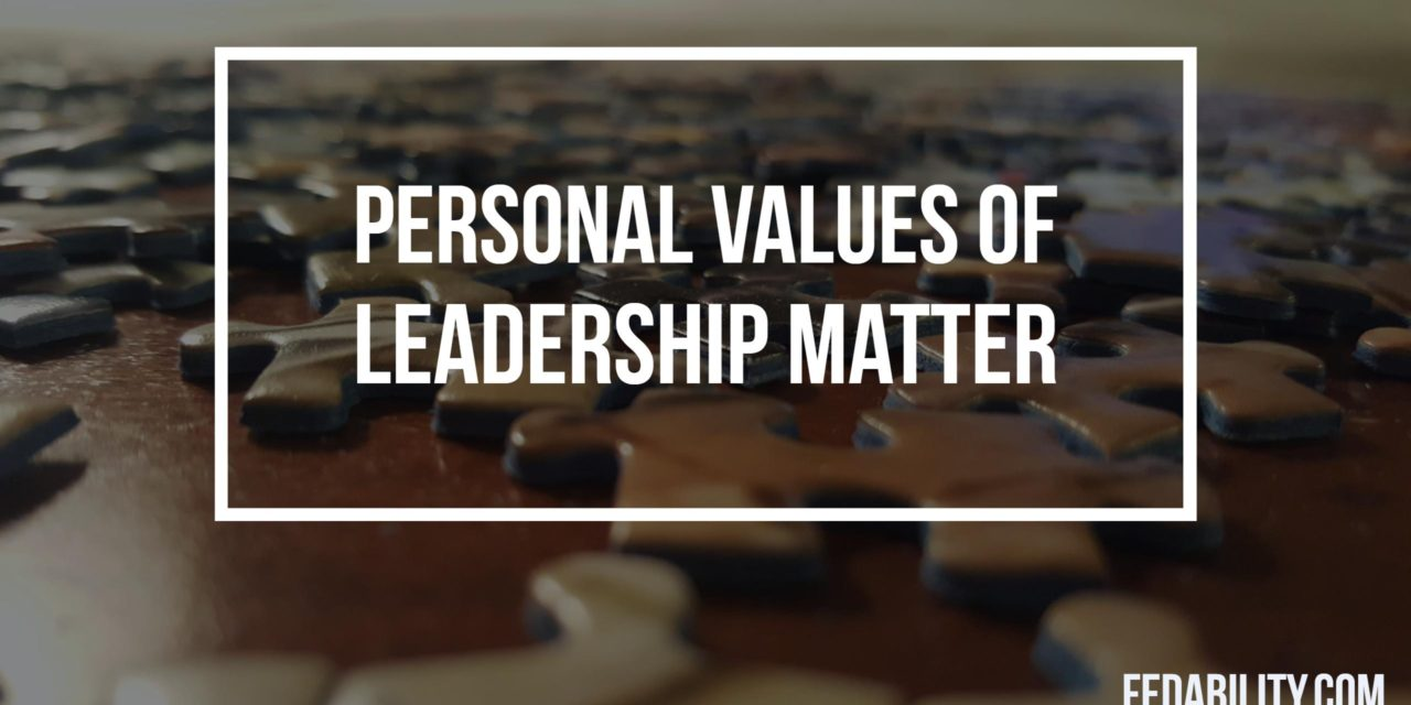 Ethical Federal workforce? Personal values of SES matter