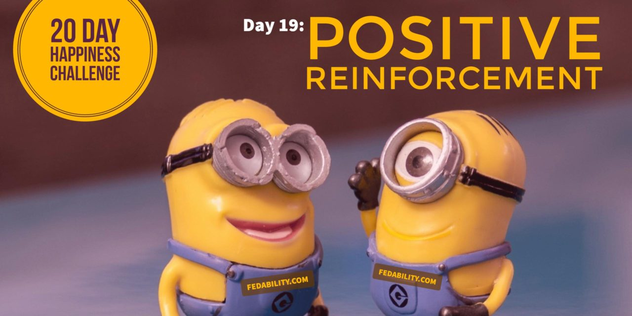 Positive reinforcement: Day 19 of the Happiness Challenge
