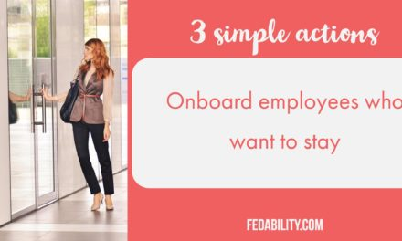 3 simple actions to onboard employees who will stay