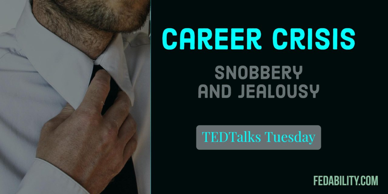 Career crisis: Do you have grade snobbery or grade jealousy?
