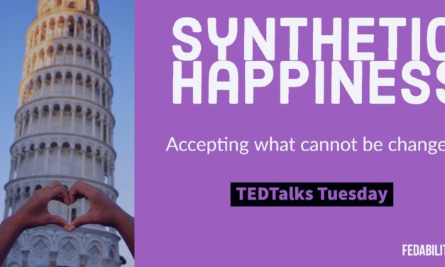 Synthetic happiness: Accepting what cannot be changed
