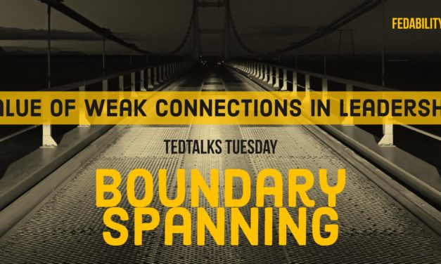 Boundary spanning: Value of weak connections in leadership