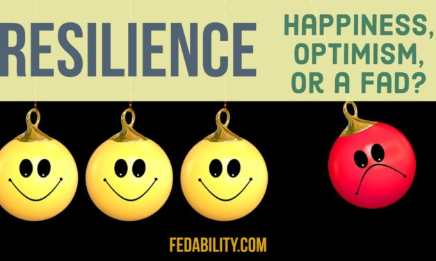 Resilience: Is it happiness, optimism, or a fad?