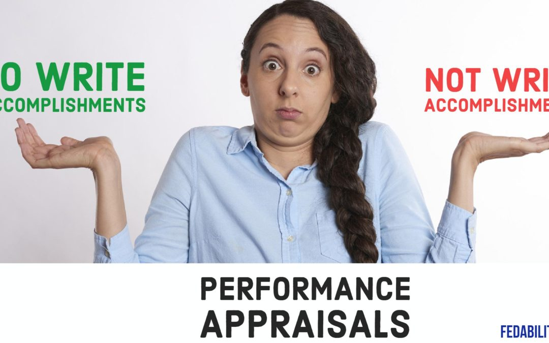 Performance appraisals: To write, or not to write, accomplishment summaries