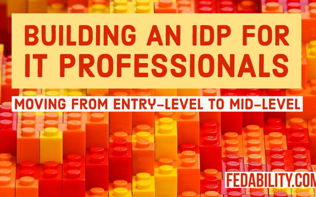Building an IDP for IT professionals: Moving from entry to mid-level