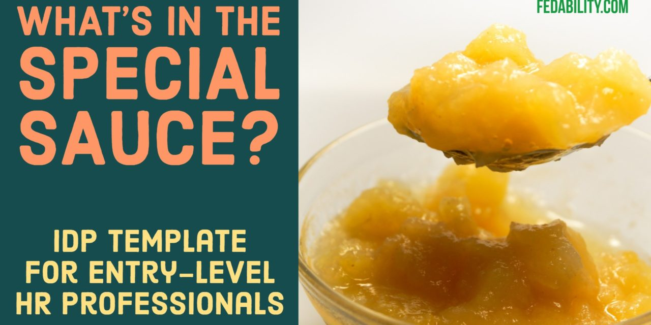 What's in the special sauce for moving up? Self improvement for HR professionals