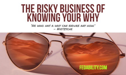 "The risky business of ""knowing your why"""