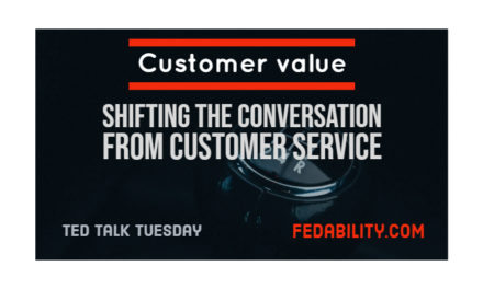 Customer value: Shift the conversation from customer service